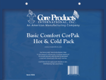 "Basic Comfort CorPak Hot/Cold Pack 9""x12"""