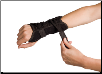 Powerwrap Wrist Left Black Universal