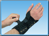 Powerwrap Wrist Right Black Universal