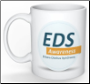 """EDS Awareness"" Mug with Logo"