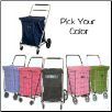 Jumbo Swivel Wheel Cart Deluxe Hooded Carrier Liner